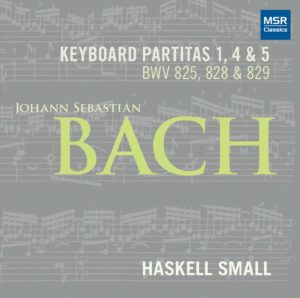 [Cover: Keyboard Partitas by Bach]